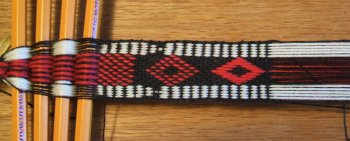 pick-up woven band