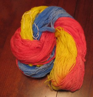 Striping sock yarn