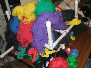 more dyed skeins
