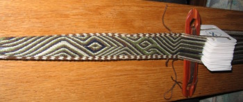 Snartemo tablet weaving