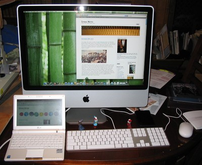 iMac and netbook